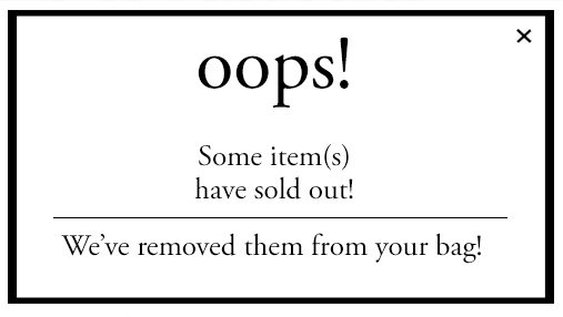 Shoptiques Sold Out Icon